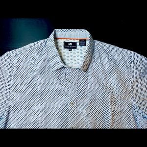 MICHAEL BRANDON .. Mens Short Sleeves Shirt  👔 Medium Size